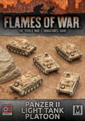 Panzer II Light Tank Platoon