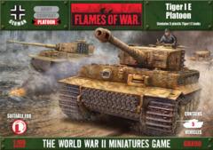 tiger I E platoon