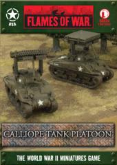 Calliope Tank Platoon