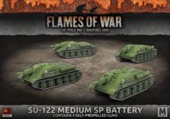 su-122 medium battery