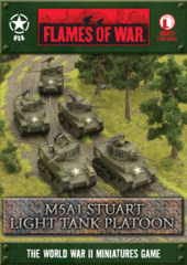 M5A1 Stuart Light Tank Platoon