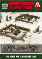 Log Emplacements Gun Pits (winter)
