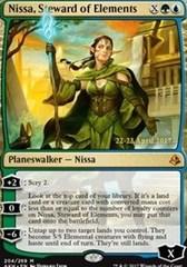 Nissa, Steward of Elements - Foil - Prerelease Promo