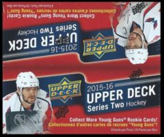 2015-16 Upper Deck 2 Retail Box