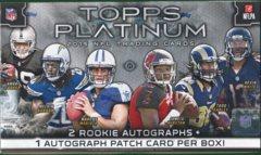 2015 Topps Platinum