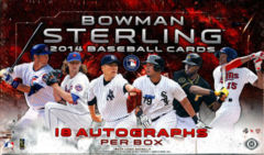 2014 Bowman Sterling Hobby Box