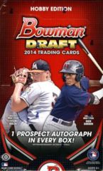 2014 Bowman Draft Hobby Box