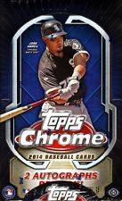 2014 Topps Chrome Hobby Box