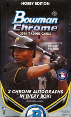 2014 Bowman Chrome Hobby Box