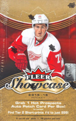 2015-16 Upper Deck Fleer Showcase