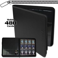 Ultra Pro-12 Pocket, Premium Binder, Blck