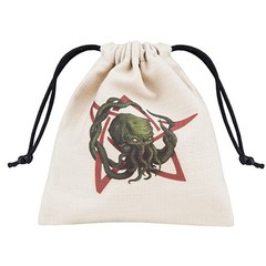 Cthulu Beige Dice Bag