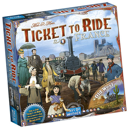 Ticket to Ride- Map collection #6 - France + Old West