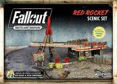 Fallout: Wasteland Warfare: Red Rocket Scenic Set
