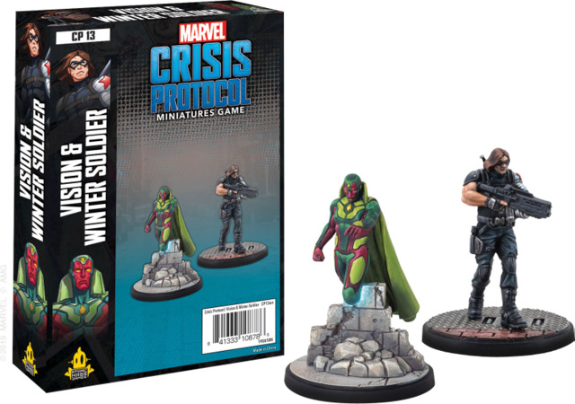 Marvel: Crisis Protocol: Vision and Winter Soldier Character Pack