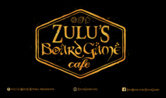 Zulu's Board Game Cafe Playmat