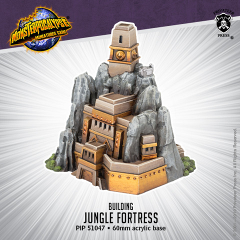 Empire of the Apes: Building: Jungle Fortress