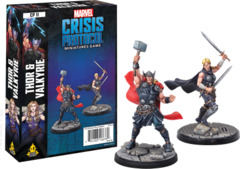 Marvel: Crisis Protocol: Thor and Valkyrie Character Pack