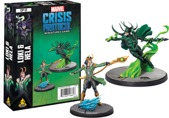 Marvel: Crisis Protocol: Loki and Hela Character Pack